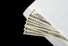 Bribe in an envelope Stock Photos