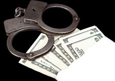 Bribe money, crime, abstract Royalty Free Stock Image