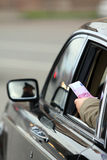 Bribe On Road Stock Images