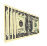 Bribe. Serial numbers on dollar bills draw up words Royalty Free Stock Images