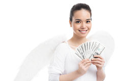 Bribed angel Stock Photo