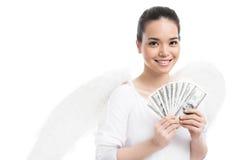 Bribed angel Stock Photo