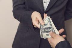 bribery foto de stock