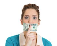 Bribery concept Royalty Free Stock Photos