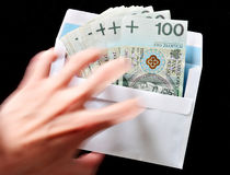 Bribery concept Stock Photos