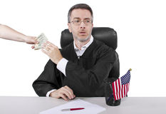Bribery Royalty Free Stock Photos