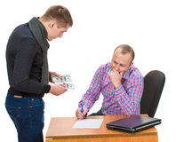 Bribery Royalty Free Stock Images