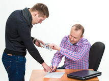 Bribery Stock Images
