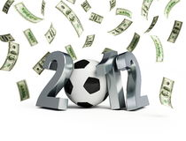 Bribery scandal Euro 2012 Stock Photos