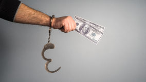 Bribes and punishment Stock Photo