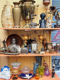 Bric a Brac, Athens Flea Market Royalty Free Stock Photos
