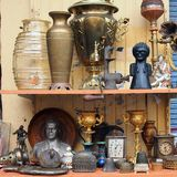 Bric a Brac, Athens Flea Market Royalty Free Stock Photo