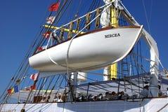 Brice Mircea Rumuńskiej Militarnej marynarki wojennej Szkolny statek Obrazy Stock