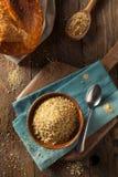 Briciole di pane casalingo organiche Fotografia Stock