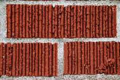 Brick. A close up of layered bricks stock images