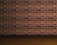 Brick. Frontal image of a brick wall stock illustration
