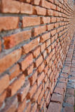Brick. Wall in building home Royalty Free Stock Images