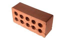 Brick. On Isolated White Background Stock Images