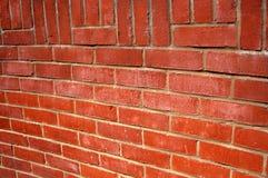 Brick. This is a badly made brick wall royalty free stock photo