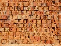 Brick. The Brick bales Many stacked Royalty Free Stock Images