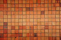 Brick. A brick is a block or a single unit of a ceramic material used in masonry construction Stock Photography