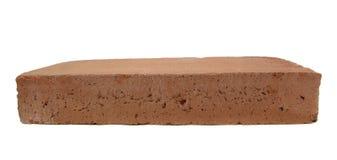 Brick. Horizontal brick isolated in white background Royalty Free Stock Image