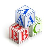 Brick abc Stock Photos