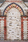 Brick alcove Royalty Free Stock Photography