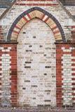 Brick alcove Royalty Free Stock Photography