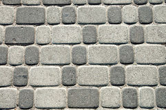Brick on alley Stock Photo