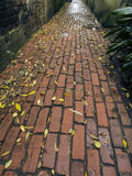 Brick Alley Way Stock Images