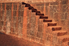 Brick ancient stairs Royalty Free Stock Photos