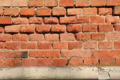 Brick And Concrete Royalty Free Stock Photos