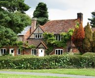 Brick And Flint Cottage Royalty Free Stock Photos
