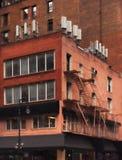 Brick apartment building Royalty Free Stock Image