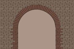 Brick Arch Royalty Free Stock Photos