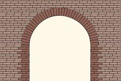 Brick Arch Stock Photography