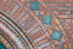 Brick arch detail Royalty Free Stock Photo