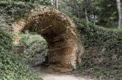 Brick arch Stock Photo
