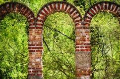 Brick Arch Stock Image