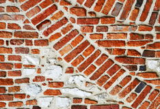 Brick arch in the wall Royalty Free Stock Photos