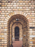 Brick arches Stock Photography