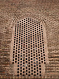 Brick architecture in Blue mosque in Tabriz, Iran Royalty Free Stock Photography