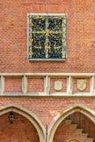 Brick architecture of Krakow (Cracow)- Poland-Jagiellonian University Royalty Free Stock Image