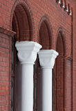 Brick architecture Royalty Free Stock Photos