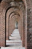 Brick Archway stock photos
