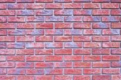 Brick backgound with blue tone Stock Photos