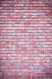 Brick backgound with blue tone Royalty Free Stock Images