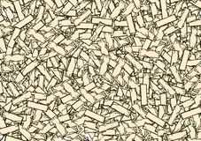 Brick Background. Abstract texture drawing Stock Images