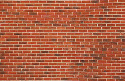 Brick Background. Large expanse of brick wall for background Royalty Free Stock Images